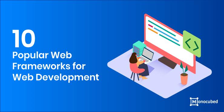 10 trending web frameworks for web development in 2020
