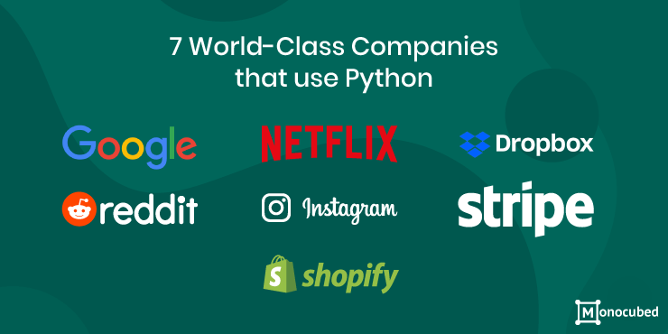 7 Popular Companies that use Python