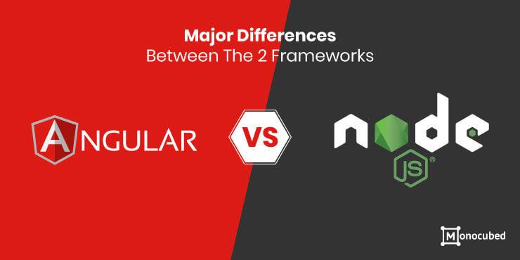 Nodejs vs Angular: Major Difference between 2 Frameworks