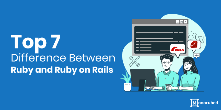 difference between ruby and ruby on rails