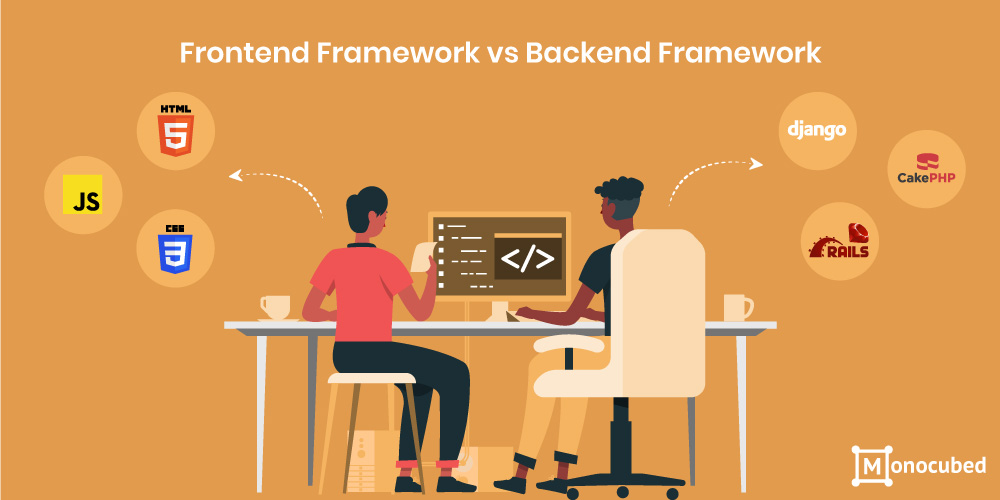 Difference between Frontend Framework and Backend Framework