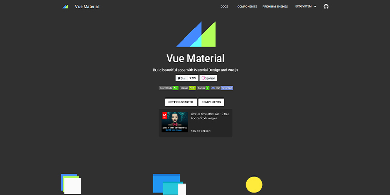Vue-Material