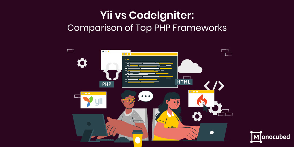 Yii vs Codeigniter - comparison of top php frameworks