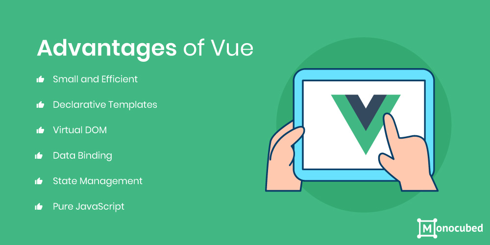 advantages of vue