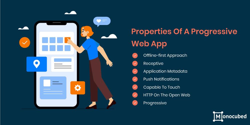 properties of progressive web app