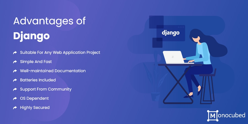 advantages of django