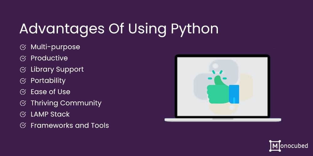 Advantages of Using Python