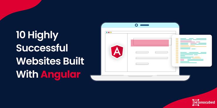 Websites built with Angular