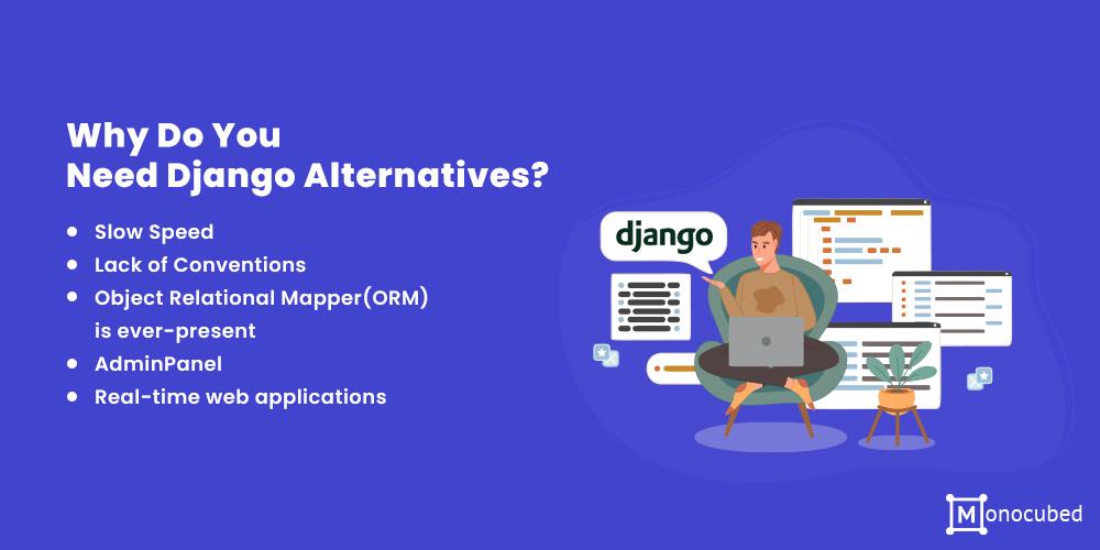 Why Do You Need Django Alternatives?