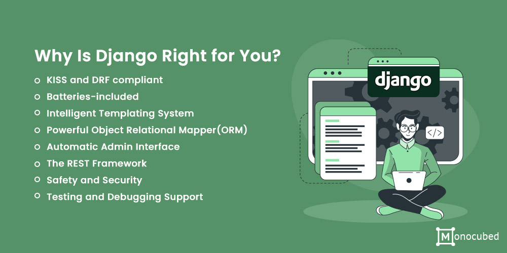 Django framework is right for you