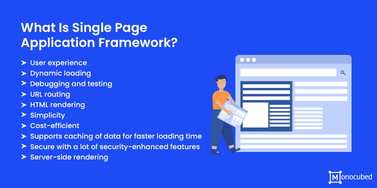 what is single page application framework?