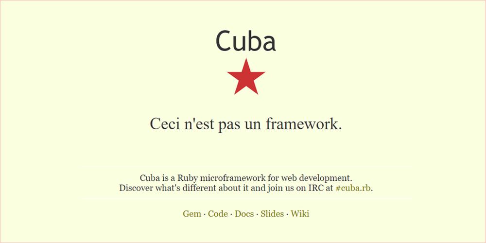 cuba framework