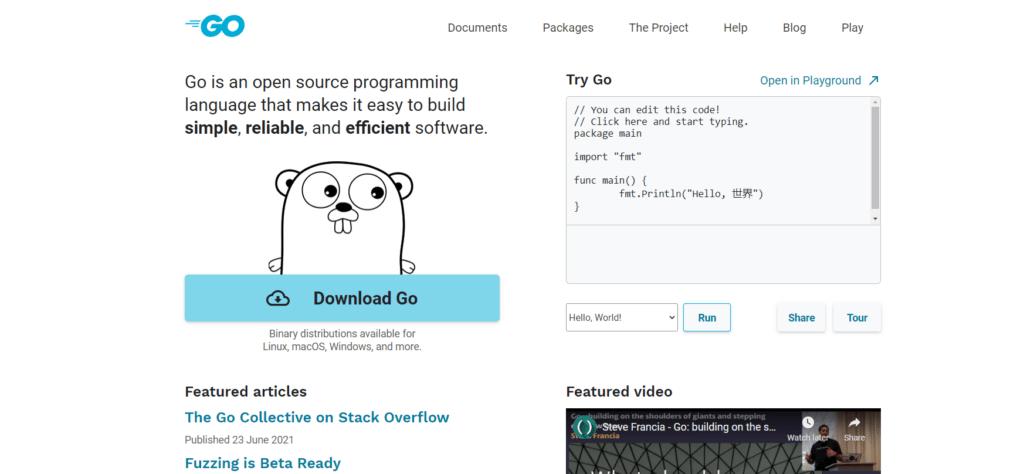 GoLang-programming-language