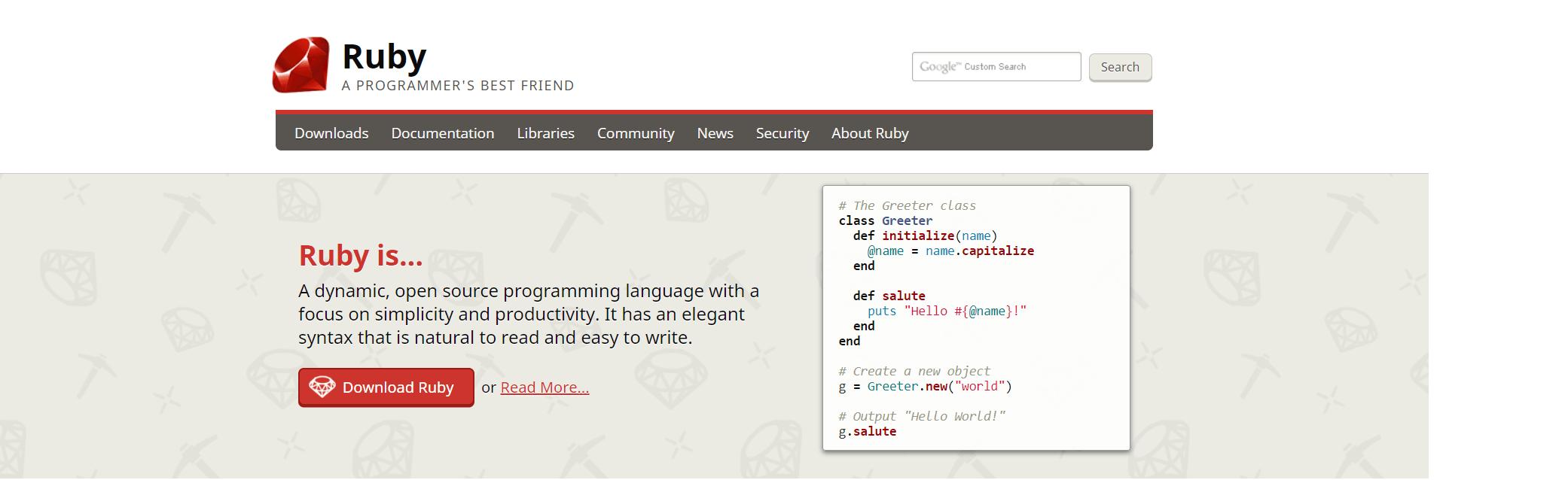 ruby website