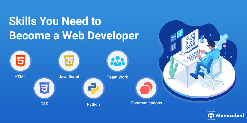 What Skills are Required to Become a Web Developer?